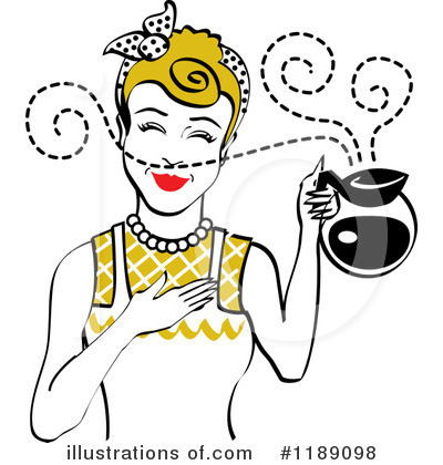 Coffee Clipart #1189098 by Andy Nortnik