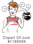 Housewife Clipart #1189099 by Andy Nortnik