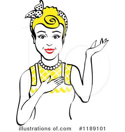 Maid Clipart #1189101 by Andy Nortnik