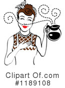 Housewife Clipart #1189108 by Andy Nortnik