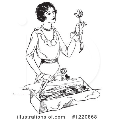 Housewife Clipart #1220868 by Picsburg