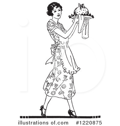 Housewife Clipart #1220875 by Picsburg