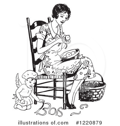 Housewife Clipart #1220879 by Picsburg