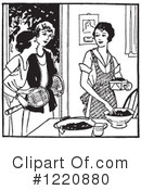 Housewife Clipart #1220880 by Picsburg