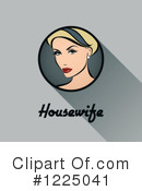 Housewife Clipart #1225041 by elena