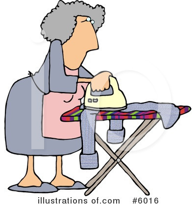 Ironing Clipart #6016 by djart