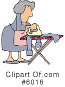 Royalty-Free (RF) Housewife Clipart Illustration #6016