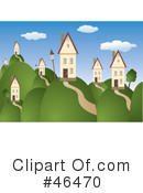 Royalty-Free (RF) Housing Clipart Illustration #46470