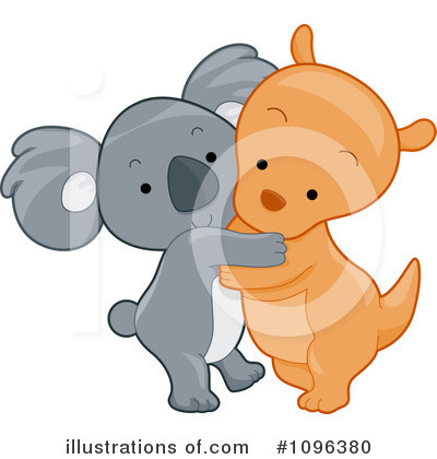 Kangaroo Clipart #1096380 by BNP Design Studio