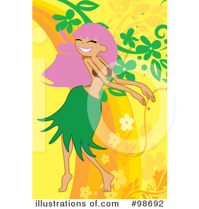 Hula Girl Clipart #98692 by mayawizard101