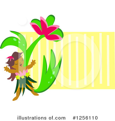 Hula Girl Clipart #1256110 by bpearth