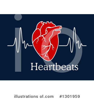 Ecg Clipart #1301959 by Vector Tradition SM