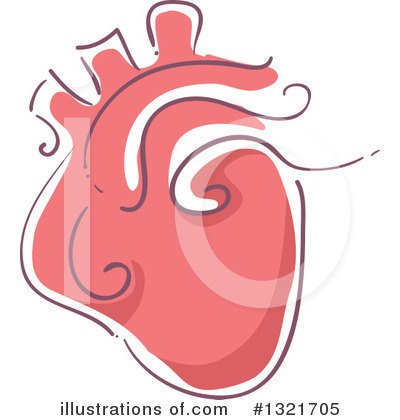 Heart Clipart #1321705 by BNP Design Studio