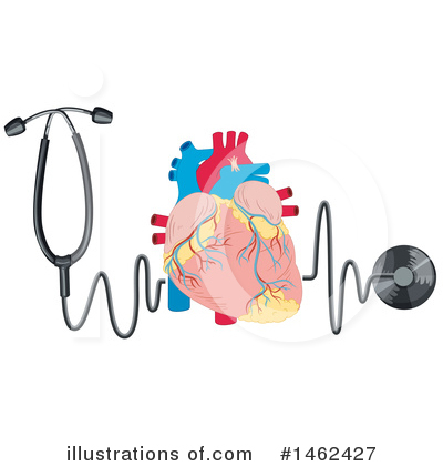 Human Heart Clipart #1462427 by Graphics RF