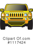 Royalty-Free (RF) Hummer Clipart Illustration #1117424