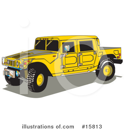 Royalty-Free (RF) Hummer Clipart Illustration by Andy Nortnik - Stock Sample #15813