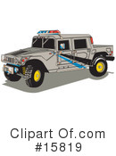 Royalty-Free (RF) Hummer Clipart Illustration #15819