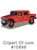 Royalty-Free (RF) Hummer Clipart Illustration #15896