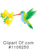 Hummingbird Clipart #1106250 by Alex Bannykh