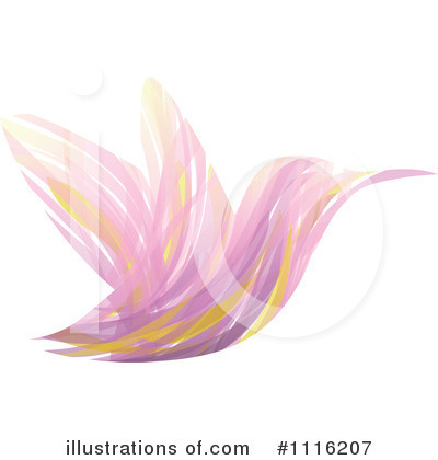 Royalty-Free (RF) Hummingbird Clipart Illustration by elena - Stock Sample #1116207