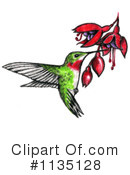 Hummingbird Clipart #1135128 by LoopyLand