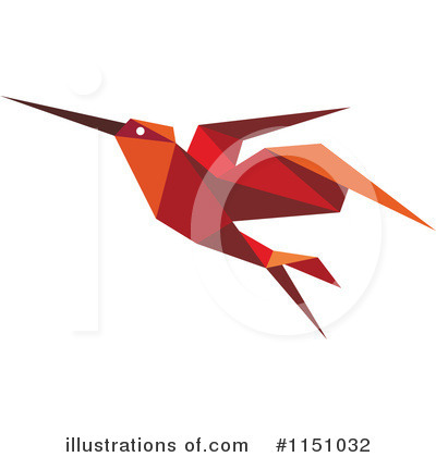 Royalty-Free (RF) Hummingbird Clipart Illustration by Vector Tradition SM - Stock Sample #1151032
