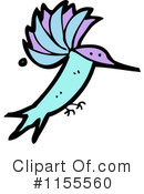 Hummingbird Clipart #1155560 by lineartestpilot
