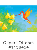 Hummingbird Clipart #1158454 by Alex Bannykh