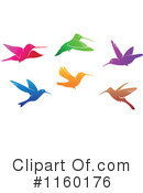 Royalty-Free (RF) Hummingbird Clipart Illustration #1160176