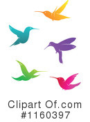 Royalty-Free (RF) Hummingbird Clipart Illustration #1160397