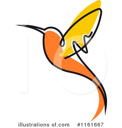 Royalty-Free (RF) Hummingbird Clipart Illustration by Vector Tradition SM - Stock Sample #1161667
