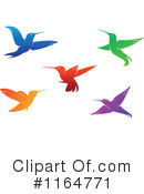 Hummingbird Clipart #1164771 by Vector Tradition SM