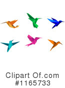 Royalty-Free (RF) Hummingbird Clipart Illustration #1165733