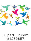 Hummingbird Clipart #1289857 by Vector Tradition SM