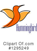 Hummingbird Clipart #1295249 by Vector Tradition SM
