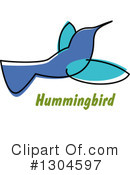 Hummingbird Clipart #1304597 by Vector Tradition SM