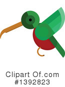 Royalty-Free (RF) Hummingbird Clipart Illustration #1392823