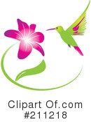 Hummingbird Clipart #211218 by Eugene