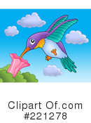 Hummingbird Clipart #221278 by visekart