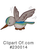 Hummingbird Clipart #230014 by BNP Design Studio