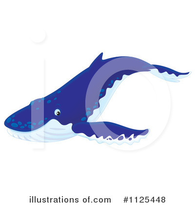 Whale Clipart #1125448 by Alex Bannykh