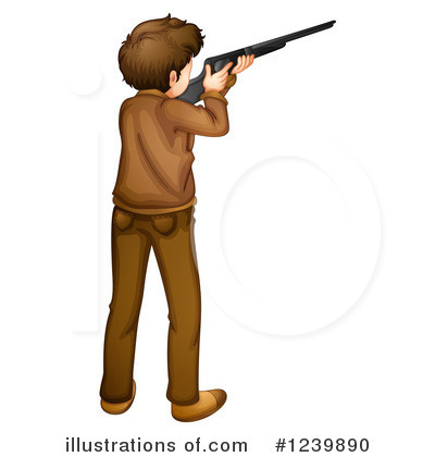 Guns Clipart #1239890 by Graphics RF