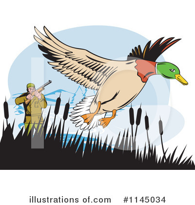 Hunting Clipart #1145034 by patrimonio