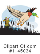 Royalty-Free (RF) Hunting Clipart Illustration #1145034