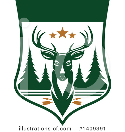 Deer Clipart #1409391 by Vector Tradition SM