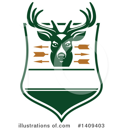 Deer Clipart #1409403 by Vector Tradition SM