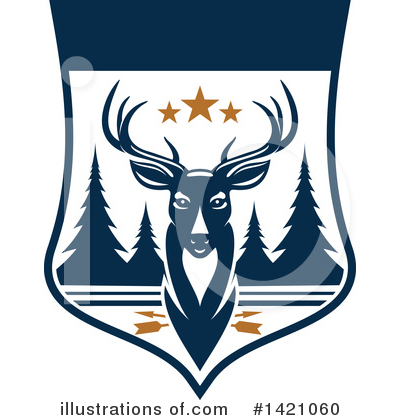 Deer Clipart #1421060 by Vector Tradition SM