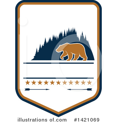 Bear Clipart #1421069 by Vector Tradition SM