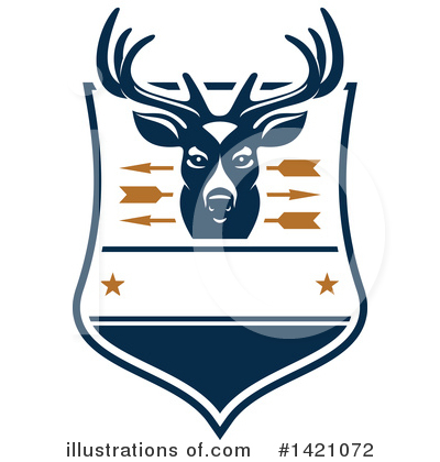 Deer Clipart #1421072 by Vector Tradition SM