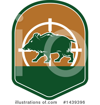 Boar Clipart #1439396 by Vector Tradition SM